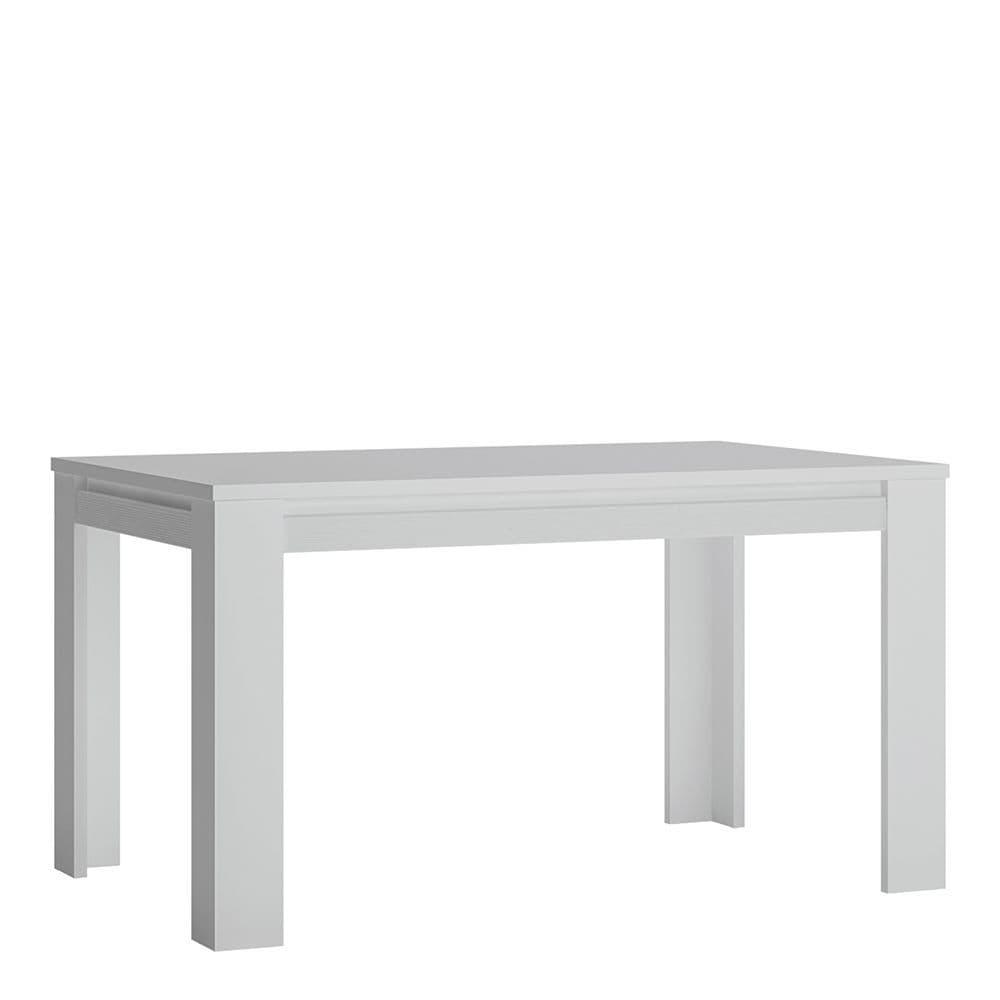 Alita Extending Dining Table 140-180cm in Alpine White